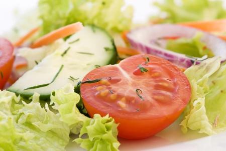 cucumber slice: Garden Salat