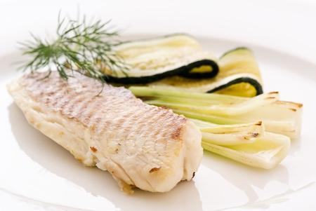 Tilapiini with Vegetable photo