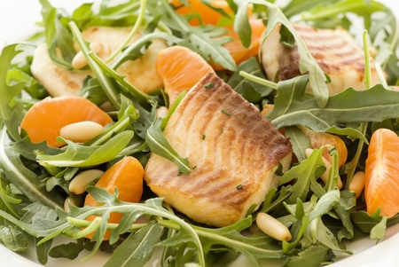 greenfish: Rocket Salad with Tilapiini