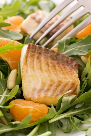 Rocket Salad with Tilapiini photo