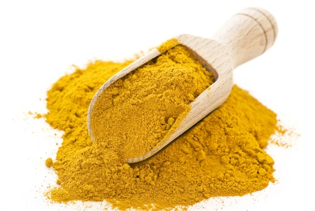 curry spices: curcuma Stock Photo