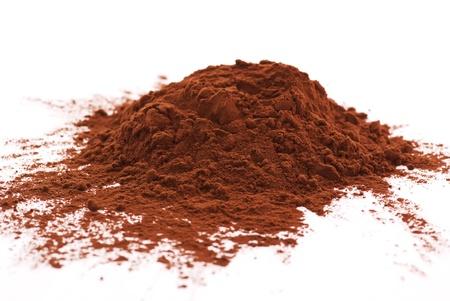 cacao: Coacoa polvo Foto de archivo