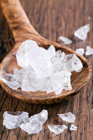 bath essence: Salt Stock Photo