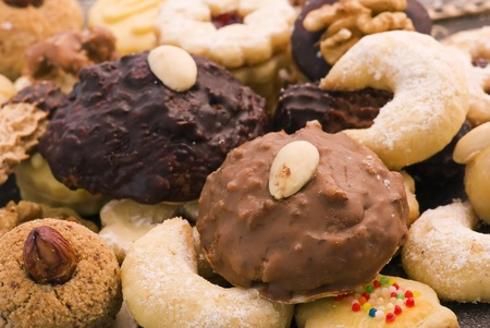 Christmas Cookie Collection Stock Photo - 9641620