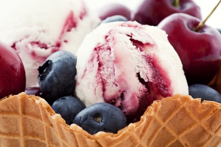 potation: Ice cream with Fruits
