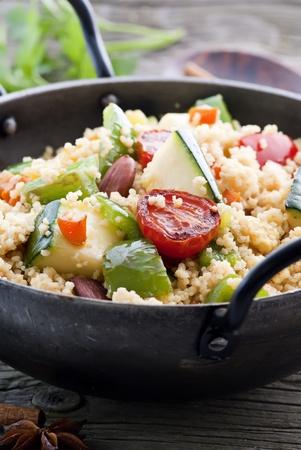 Kuskus with Vegetable photo