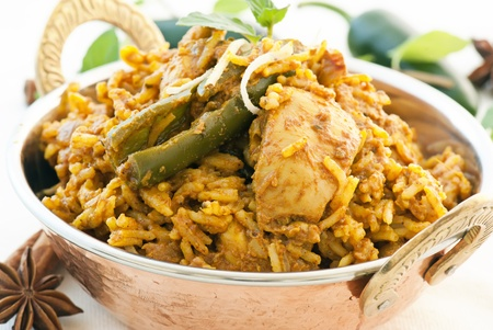 exotically: Biryani Stock Photo