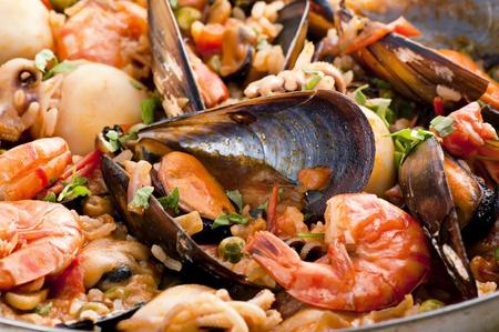 tapas: Seafood Paella