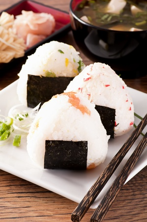 Onigiri Stock Photo - 9797003