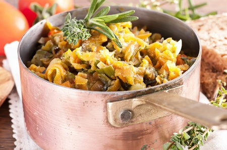 stewed: Stewed vegetable