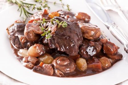 tenderloin: Beef Bourguignon