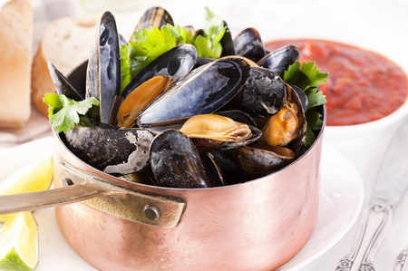 Mussels in Casserole photo