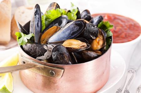 Mussels in Casserole photo