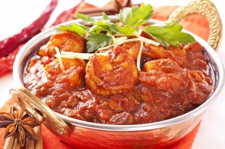 curry: Prawn curry Madras
