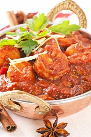 masala: Curry de langostinos