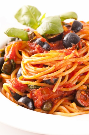 puttanesca: Spaghetti alla Puttanesca
