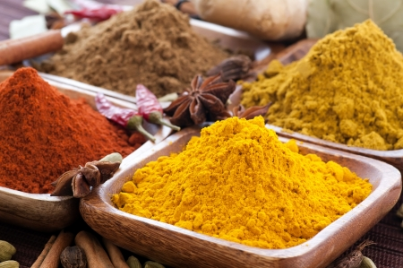 exotically: Exotically Spice Mix Stock Photo