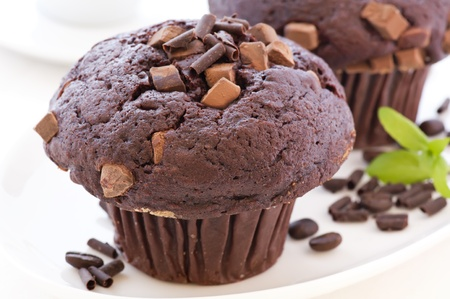 magdalenas: Muffin de chocolate