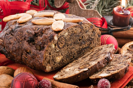 Sweet Fruite bread Banque d'images