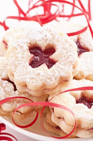 Linzer Augen cookies photo