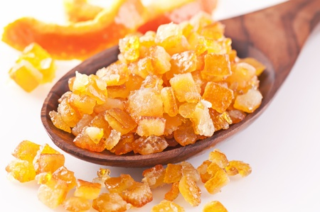 candied orange peel Stock Photo