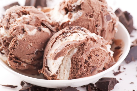 Ice cream scoops Stock Photo - 10048044