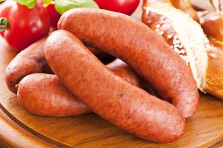 smoked sausage: Dry sausages