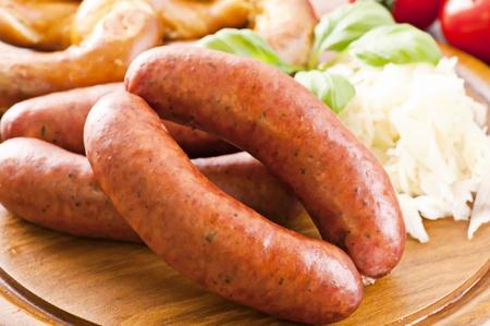 dry sausage: Dry sausage