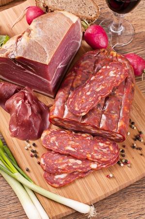 air dried salami: Spianata Calabra Picante