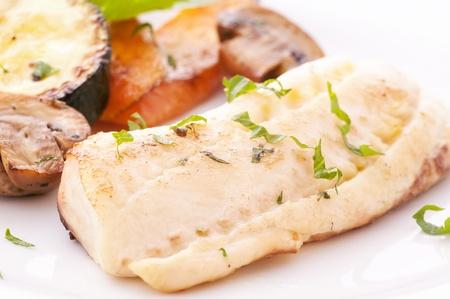 Tilapiini Filet with Vegetable photo