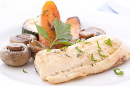 tilapiini: Tilapiini Filet with Vegetable
