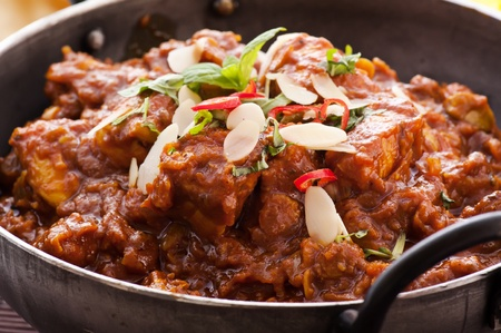 Madras: Chicken Madras in Stew pot