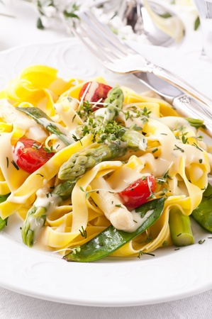 Pasta with vegetable Stock Photo - 10131118