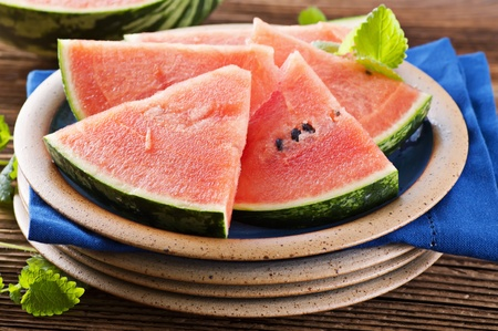 fruity salad: Watermelon Stock Photo