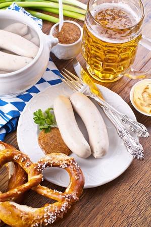 weisswurst: Oktoberfest breakfast