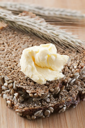 marge: wholemeal bread with butter