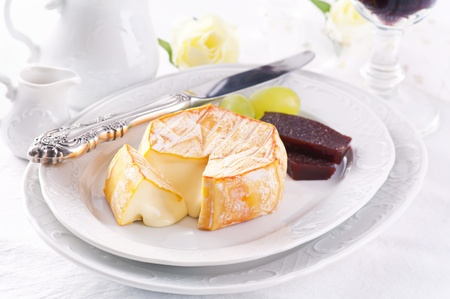 French soft mold cheese  photo