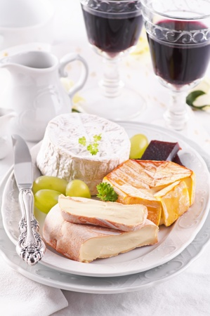 cheese plate: cheese plate
