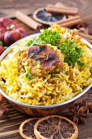 oriental cuisine: Chicken Biryani