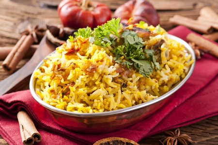 Chicken Biryani Stock Photo - 10577706