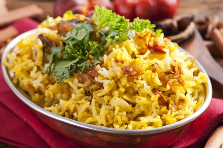 masala: Chicken Biryani