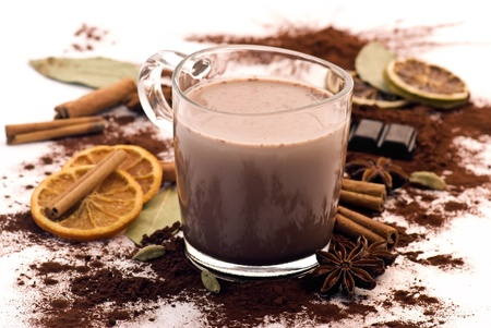 hot chocolate: Cacao