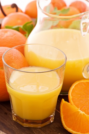 Orange Juice with Pitcher photo