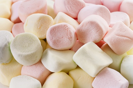 spongy: Marshmallows