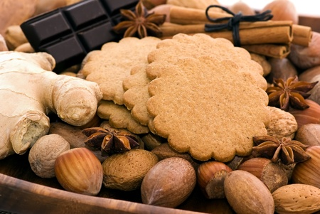 Ginger Bread and Nuts photo