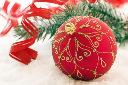st nicholas: Christmas Decoration with Bauble