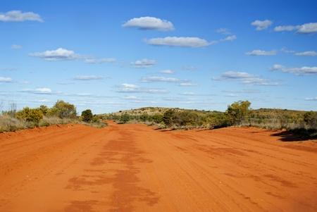 Sandy Outback Track photo