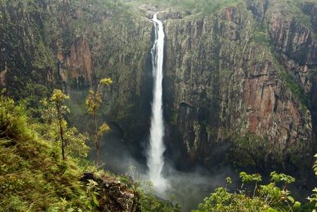 chasm: Wallaman Falls in Queensland, Australia
