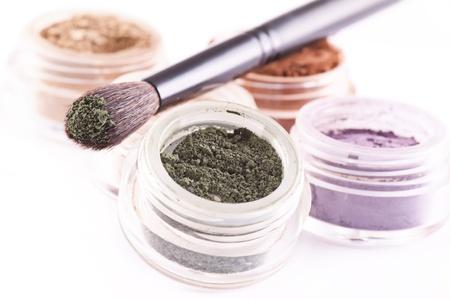 minerals: makeup Stock Photo