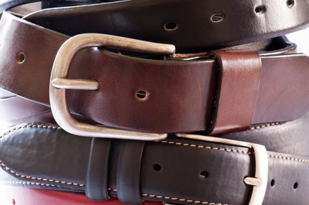 leather belt: Belts